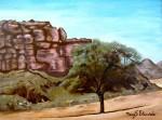 Obras de arte: Europa : España : Catalunya_Girona : Figueres : Sabina en Wadi-Rum  (Jordania)