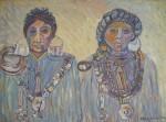 Obras de arte: America : Chile : Region_Metropolitana-Santiago : pirque : Mapuches