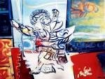 Obras de arte: America : Brasil : Sao_Paulo : Sao_Paulo_ciudad : Moctezuma dança para o horizonte