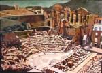 Obras de arte: Europa : España : Murcia : cartagena : Teatro romano
