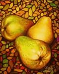 Obras de arte: America : México : Jalisco : Guadalajara : Trio de peras.