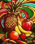 Obras de arte: America : México : Jalisco : Guadalajara : Frutas en sueño.