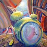 Obras de arte: Europa : España : Andalucía_Málaga : Rincón_de_la_Victoria : Tiempo relativo, creo que voy a llegar tarde