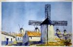 Obras de arte: Europa : España : Castilla_la_Mancha_Ciudad_Real : Ciudad_Real : Vista Cerro de la Paz I