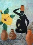 Obras de arte: America : Puerto_Rico : San_Juan_Puerto_Rico : GUAYANILLA : AFRICA