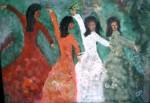 Obras de arte: America : Puerto_Rico : San_Juan_Puerto_Rico : GUAYANILLA : DANZANTES
