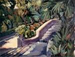 Obras de arte: Europa : España : Murcia : cartagena : Escaleras del parque Torres 2