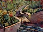 Obras de arte: Europa : España : Murcia : cartagena : Escaleras del parque Torres 3