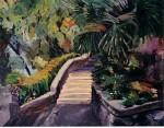Obras de arte: Europa : España : Murcia : cartagena : Escaleras del parque Torres 4