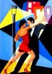 Obras de arte: America : Argentina : Buenos_Aires : La_Plata : Vuelta de Rocha ....Color Tango
