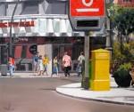 Obras de arte: Europa : España : Euskadi_Álava : Vitoria : Cruzando en la plaza