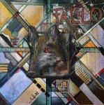 Obras de arte: Europa : España : Principado_de_Asturias : Gijón : A mi amigo cazador Roberto Espina