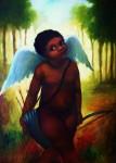 Obras de arte: America : Panamá : Veraguas : Santiago_de_Veraguas : ANGEL NEGRO