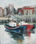 Obras de arte: Europa : España : Euskadi_Bizkaia : Bilbao : Amarre en Santurce