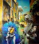 Obras de arte: America : Argentina : Buenos_Aires : Ciudad_de_Buenos_Aires : Mascaras junto al a Puente