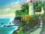 Obras de arte: America : Puerto_Rico : San_Juan_Puerto_Rico : GUAYANILLA : MY FAVORITE LIGHTHOUSE
