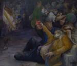 "Obras de arte: America : Argentina : Neuquen : Neuquen_Capital : ""Fiesta linyera en el Galpón Onírico"