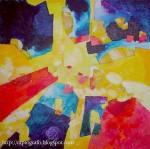 Obras de arte: America : Chile : Valparaiso : Valparaíso : cielo amarillo