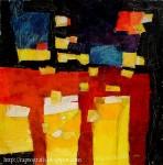 Obras de arte: America : Chile : Valparaiso : Valparaíso : cielo negro