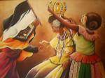 Obras de arte: America : Panamá : Colon-Panama : Barrio_Sur :  La Coronación de Merced.