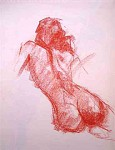 Obras de arte: Europa : España : Murcia : cartagena : Desnudo (apunte del natural)17