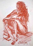 Obras de arte: Europa : España : Murcia : cartagena : Desnudo (apunte del natural)24