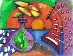 Obras de arte: America : Colombia : Cesar : Valledupar : FLORECIENDO DEL OCASO DE LOS VALLES