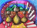 Obras de arte: America : Colombia : Cesar : Valledupar : COHESION CULTURAL