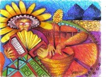 Obras de arte: America : Colombia : Cesar : Valledupar : MERENGUE FLORECIDO EN LA MACONDO