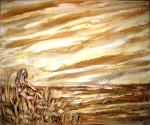 Obras de arte: Europa : España : Catalunya_Tarragona : Banyeres_Penedes : Tarde al viento