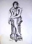 Obras de arte: Europa : España : Murcia : cartagena : Desnudo (apunte del natural)41
