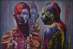 Obras de arte: America : Rep_Dominicana : Distrito_Nacional : santo_domingo_este_almarosa1 : los pintao de barahona