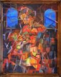 Obras de arte: Europa : Rusia : Moscow : Moscow_ciudad : Madona Lita Cubistica