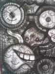 Obras de arte: America : México : Veracruz-Llave : coatzacoalcos : laberinto a la perdición