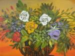 Obras de arte: America : Colombia : Distrito_Capital_de-Bogota : Bogota_ciudad : NATURALEZA MUERTA-FLORES-4