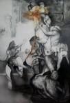 Obras de arte: America : Argentina : Neuquen : Neuquen_Capital : UN NOCHE DE FIESTA LINYERA