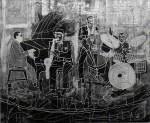 Obras de arte: Europa : España : Catalunya_Barcelona : Terrassa : los colores del jazz.8