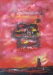 Obras de arte: America : Colombia : Cundinamarca : engativa : elemento plástico sin anecdotas De  la serie de lo real y lo quimérico