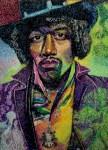 Obras de arte: America : Uruguay : Montevideo : Montevideo_ciudad : Rosto de Jimi Hendrix