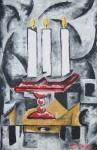 Obras de arte: America : México : Puebla : puebla_ciudad : CANDELERO IMPOSIBLE