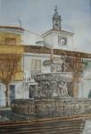 Obras de arte: Europa : España : Andalucía_Granada : churriana : Plaza del Ayuntamiento