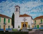 Obras de arte: Europa : España : Andalucía_Granada : churriana : Plaza de la Iglesia, Churriana de la Vega