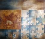 Obras de arte: Europa : Países_Bajos : Limburg-holanda : Tegelen : Azul nublado