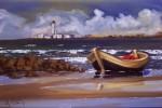 Obras de arte: America : Uruguay : Montevideo : Montevideo_ciudad : Playa