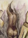 Obras de arte: America : Venezuela : Miranda : Caracas_capital : Mujer peinandose