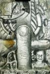 Obras de arte: America : México : Chiapas : Tapachula : detalle portapinceles El Niño
