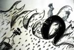 Obras de arte: America : México : Chiapas : Tapachula : Surfing Puerto Madero