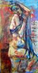 Obras de arte: America : Argentina : Buenos_Aires : Capital_Federal : Mujer envuelta en lazo