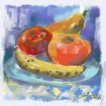 Obras de arte: America : Costa_Rica : Cartago : Tres_Ríos : Frutas