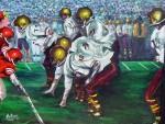 Obras de arte: America : Estados_Unidos : Florida : orlando : SATURDAY NIGTH FOOTBALL